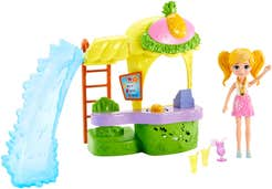 Polly Pocket Stand de Smoothies Quiosco de Piña