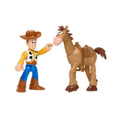 Imaginext Toy Story Legacy Woody y Bullseye