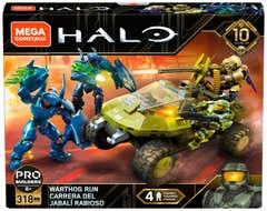 Mega Construx™ Halo, Carrera de Warthog