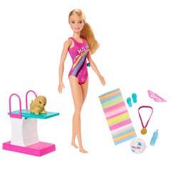 Barbie Dreamhouse Nadadora con Accesorios