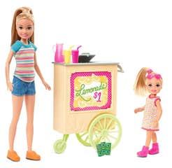 Barbie Familia Familia Puesto de Limonada