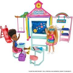 Barbie Familia Chelsea Set de Juego Escuela