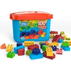Mega Bloks® Mega Caja de 100 Mini Bloques
