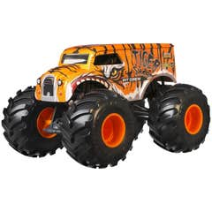 Hot Wheels Monster Trucks Tiger Shark Pit Crew