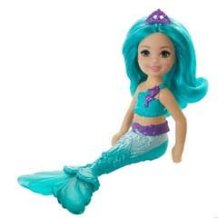 Barbie Dreamtopia Chelsea Sirena Azul
