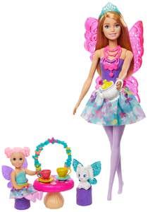 Barbie Dreamtopia Muñeca y Accesorios Azul