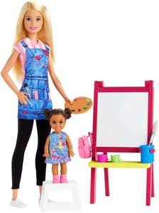 Barbie Careers Maestra Arte con Niña