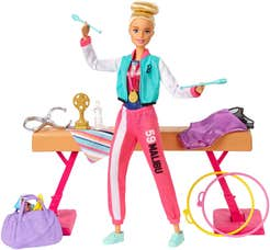 Barbie Careers Set Gimnasta