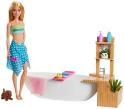 Barbie Fashionista Baño de Espuma