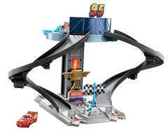 Disney Pixar Cars Pista de Entrenamiento Rust-eze
