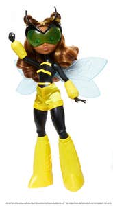 DC Super Hero Girls Bumblebee Transformación
