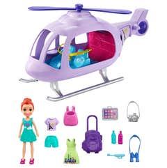 Polly Pocket Core Helicóptero de Aventuras