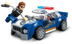 Mega Construx™ Ciudad Patrulla de Policía