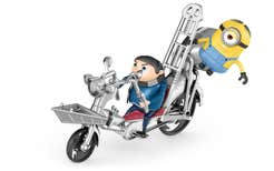 Minions Gru Con Motocicleta