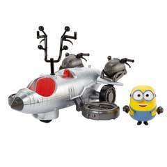 Minions Piloto Turbo Divertido