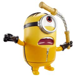 "Minions Poderosos Stuart Kung Fu Figura 7"""