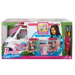 Mattel Barbie Hospital Móvil Doctor Y Enfermera GMG35