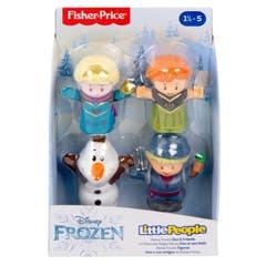 Mattel Little People Disney Frozen Elsa y Amigos GMJ13