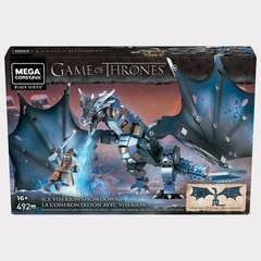Mega Construx Game of Thrones, Oce Viserion Shwdwn
