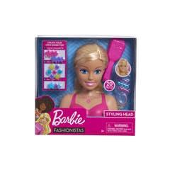 Mattel Barbie Cabeza de Peinados y Accesorios GMV35