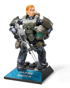 Mega Construx Halo Halo Héroes Marine Sniper