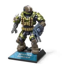 Mega Construx Halo Héroes Spartan Gungnir
