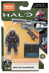 Mega Construx Halo Halo Héroes Brute Warrior