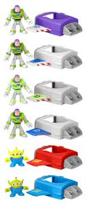 Imaginext Toy Story Nave y Figura Misteriosa