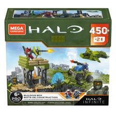 Mega Construx Halo, Bloques Construcción De Mundos