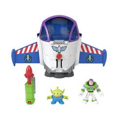 Imaginext Toy Story Nave Espacial Buzz Lightyear