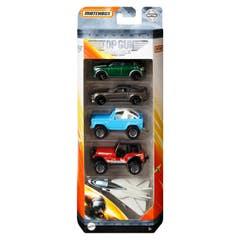 Mattel Matchbox Top Gun 5 Pack GRF43