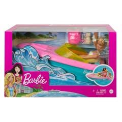 Mattel Barbie Lancha con muñeca GRG30
