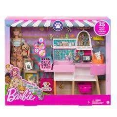 Mattel Barbie Tienda Cuidado Para Mascotas GRG90