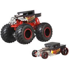 Hot Wheels Monster Trucks Bone Shaker & Dcc