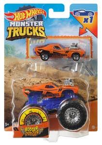 Hot Wheels Monster Trucks Rodger Dodger& Dcc