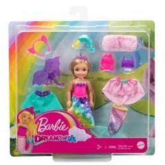 Mattel Barbie Dreamtopia Set de Disfraces Chelsea GTF40