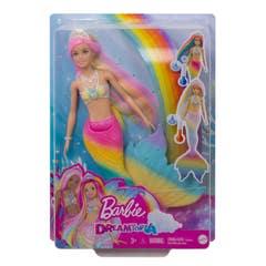 Mattel Barbie Dreamtopia Sirena Arcoíris Mágico GTF89