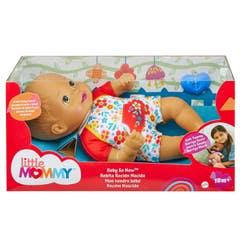 Mattel Little Mommy Bebita Recién Nacida Ropa Floreada GTK56