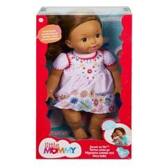 Mattel Little Mommy Bebita Tierna Como Yo Castaña GTN69