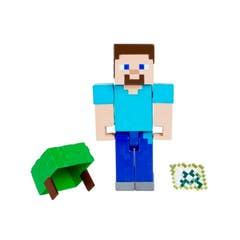 Mattel Minecraft Vanilla Mini Figura Con Crafting Asst Figura 2 GTP08