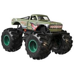 Hot Wheels Monster Trucks V8 Bomber_x005F_x0099_ (verde)
