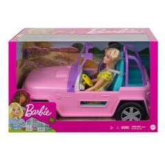 Mattel Barbie Estate Jeep Con Muñeca y amiga GVK02
