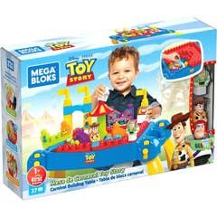 Mattel Mega Bloks Disney Mesa Carnaval Toy Story GWF99