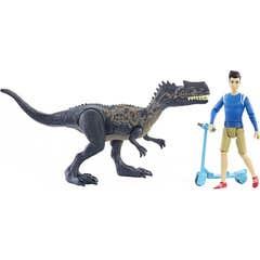 Mattel Jurassic World Pack Personaje Y Dinosaurio GWM24-4