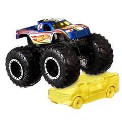 Hot Wheels Monster Trucks Racing #1/Blind Sided