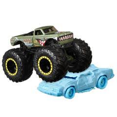 Hot Wheels Monster Trucks V8 Bomber/Speed Bump