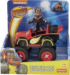 Fisher-Price Blaze, Vehículo Y Figura Aj Sorpresa GYD20