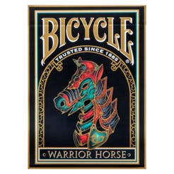 Baraja poker bicycle warrior horse