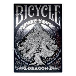 Baraja poker bicycle dragon caja de carton