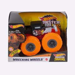 Hot Wheels Monster Trucks 1:43 Wrecking Wheels 1005GCG01 Naranja